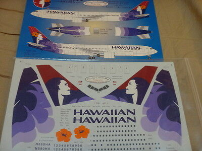 *******Colorful 1:144 scale Flying Colors HAWAII AIRLINES 767-300