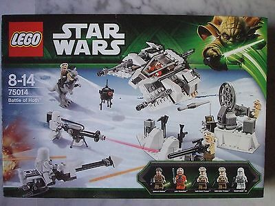 Bataille De Hoth   75014  Neuf !!  Lego  Star  Wars
