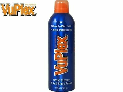 VUPLEX Plastic Cleaner & Anti-Static Polish LARGE 375g ( 445ml )