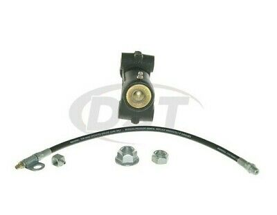 NEW For Chevy GMC Front Steering Idler Arm Bracket Assembly & Grease Hose Moog