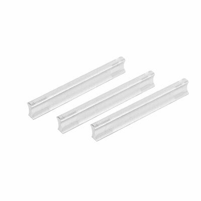 Wardrobe Cupboard Drawer Cabinet Aluminium Pull Handles 96mm Hole Spacing 3pcs