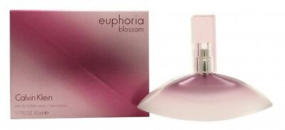 Calvin Klein Euphoria Blossom Eau De Toilette 50Ml Spray - Women's For Her. New