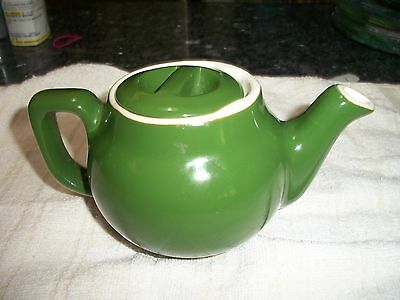Vintage Green One Cup Teapot - Coors Pottery