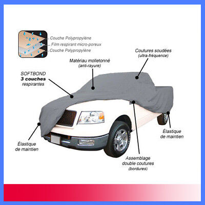 Housse Protection Pick-Up King Cab - Bache Interieur/exterieur Mixte