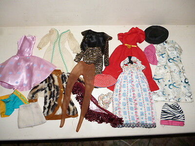 Vintage Lot Of Fashion Doll Clothes Suit Sindy Or Barbie Some With Barbie Label