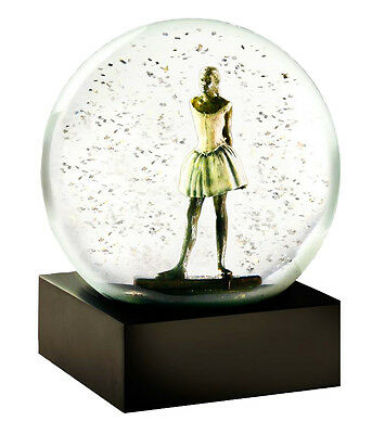 CoolSnowGlobes Dancer in Snow Original Glass Chillingly Beautiful Snow Globe