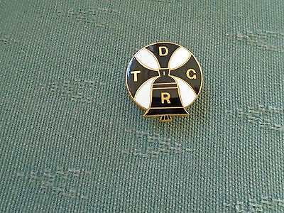 Vintage Truro Diocesan Guild Of Ringers - Enamel Church Bells Badge - Fattorini