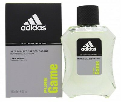 Adidas Pure Game Aftershave 100Ml Splash - Men's For Him. New. Free Shipping