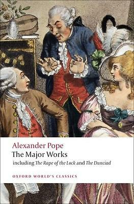The Major Works (Oxford World's Classics) (Paperback), Pope, Alex. 9780199537617