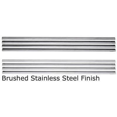Wolf Steel L36SS Brushed Stainless Steel Contour Louver Kit
