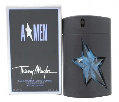 Thierry Mugler A*men Rubber Flask Eau De Toilette 100Ml Spray - Men's For Him