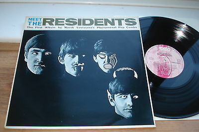 The Residents Meet The Residents EX+/EX PLAYS EX!! TOP COPY!! TORSO 1988  LP