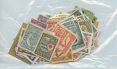 HONDURAS--Accumulation of 69 stamps