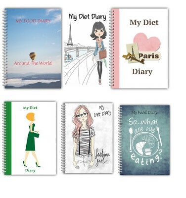 New A5 Diet Diary Standard My Food Diary Slimming Tracker Weight Loss Planner