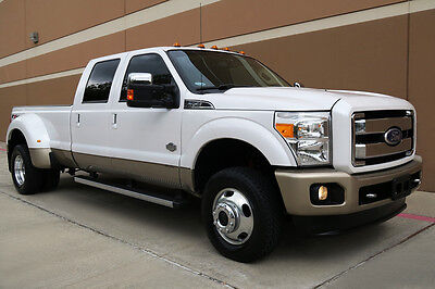 2011 Ford F-350 KING RANCH CREW CAB DRW LONG BED FX4 OFF-ROAD 2011 FORD F-350 SD KING RANCH CREW CAB DRW LONG BED 6.7L DIESEL FX4 NAV CAM ROOF