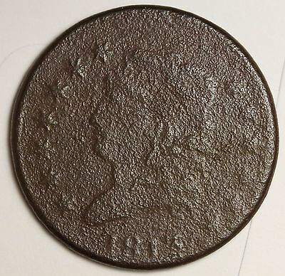 1813 Large Cent.  Fine Detail.  99309