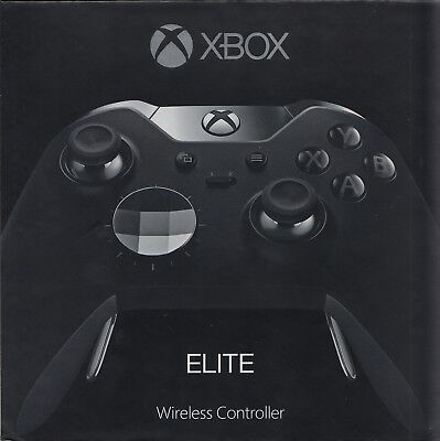 Microsoft Xbox One ELITE Wireless Controller - Neu & OVP - Schwarz