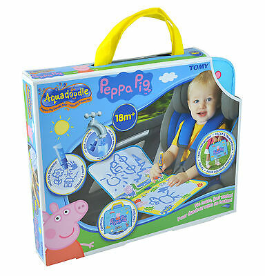 T72368 TOMY Peppa Pig Doodle Bag Aquadoodle Travel Case Children Toddler 18m+