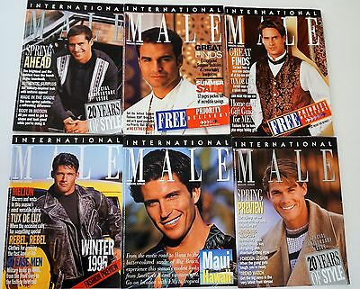 6 Vintage INTERNATIONAL MALE Catalogs - 1995 (RARE, OUT-OF-PRINT)