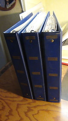 Russia stamp collection in 3 volume binders to '95