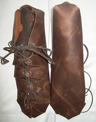 New Handmade Renaissance Woman's Real Finished Leather Shoes One Size CLEARANCE!