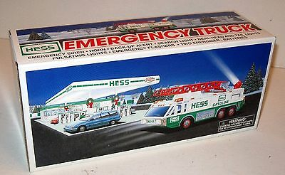1996 Hess Truck Emergency Truck New In Box Never Opened