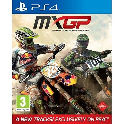 MXGP The Official Motocross Videogame PS4 Game Brand New