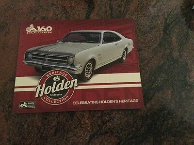 Australia - 2016 - 160 Years of Holden Stamp Pack - Heritage Collection