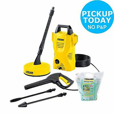 Karcher Compact Home Pressure Washer - 1400W - 110 Bar :The Official Argos Store