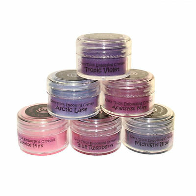 Cosmic Shimmer Ultra Thick Embossing Powder Set Fairy Shades 6 x 20ml Pots