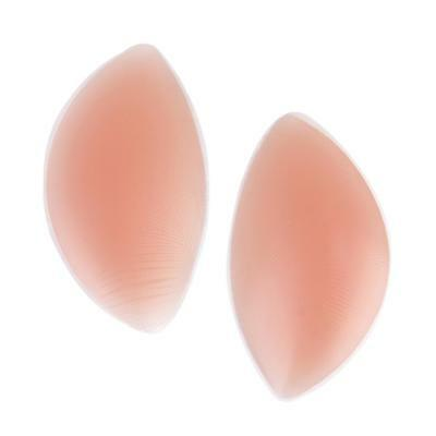 Nude Silicone Gel Bra Breast Enhancer Pads Chicken Fillets Inserts Push Up