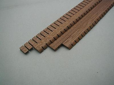 Reverse-kerfed Mahogany Lining / Kerfing for Guitar / Luthier (~400mm)