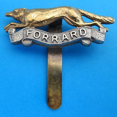The East Riding of Yorkshire Yeomanry British Army/Military Hat/Cap Badge