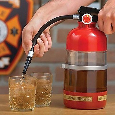 1.5L Novedad Dispensador De Bebidas Extintor Dispositivo Toy Bomba