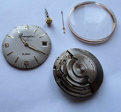ETA 1212 25j AUTOMATIC DATE ,BRAVINGTONS WATCH MOVEMENT WITH DIAL ,HANDS