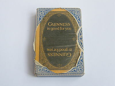 Vintage-Guiness Stout-Pack Of Early Playing Cards Sealed In Box-circa 1950's