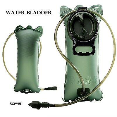 2L 3L Water Bladder Bag Hydration System Pack Backpack Hiking Camping Cycling HT