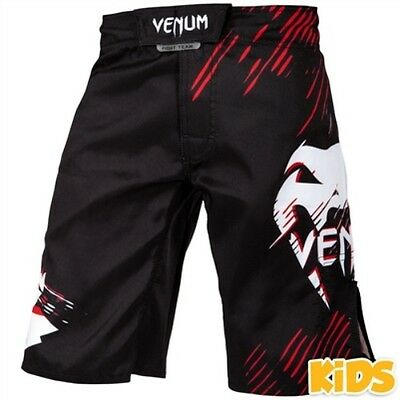 VENUM CONTENDER KIDS FIGHT SHORTS - MMA Bjj Muay Thai Boxing Training Sparring