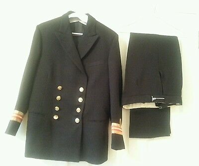 GIEVES & HAWKES ROYAL NAVY LIEUTENANT COMMANDER UNIFORM -DRY CLEANED fancy dress