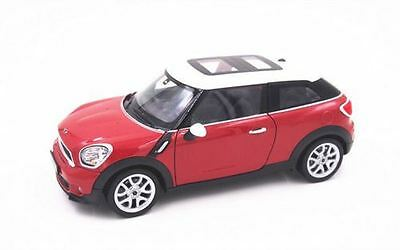Welly Diecast Model  - Mini Cooper S Paceman Car Red - 1:24 - 24050W - New