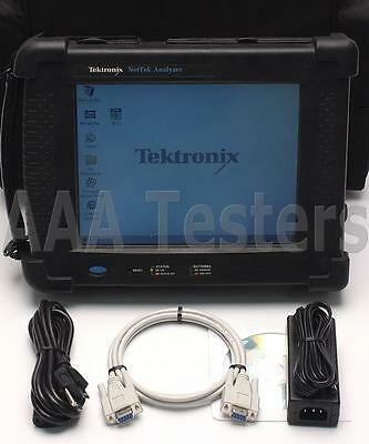 Tektronix Y350C NetTek Analyzer Platform OTDR MainFrame w/ Options FD & 88