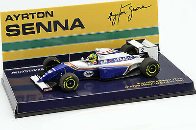 Ayrton Senna Williams FW16 #2 Pazifik GP Formel 1 1994 1:43 Minichamps