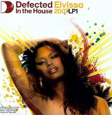 Defected In The House Eivissa 2007 LP1 - Various 2LP, 0826194075774
