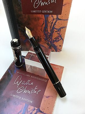 Montblanc Agatha Christie Writers Edition From 1993 RARE and COLLECTABLE