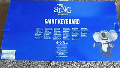 SING Giant Keyboard FYC For Your Consideration Photo Book *EXCLUSIVE*  promo