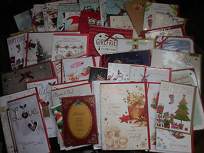 Job Lot Of 70 Christmas Cards.... Great Quality Including Clintons, Papyrus...
