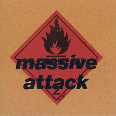 Massive Attack Blue Lines New Sealed 180G Vinyl Lp Reissue In Stock