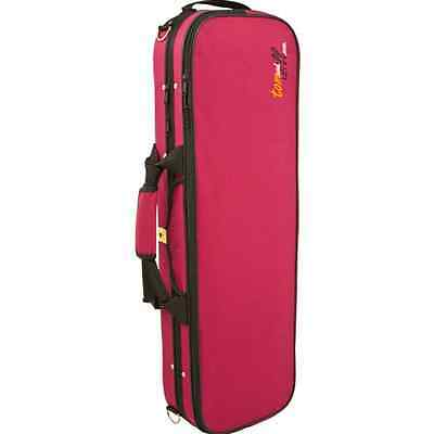 Tom and Will 3/4 Size Violin Gig Case - Burgundy