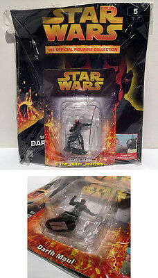 DeAgostini STAR WARS Figurine Collection Magazine#5 DARTH MAUL Lead Figure