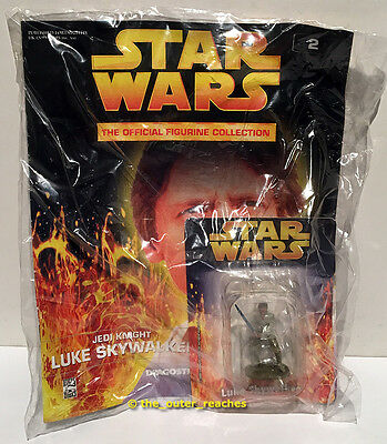 DeAgostini STAR WARS Figurine Collection Magazine#2 LUKE SKYWALKER Lead Figure